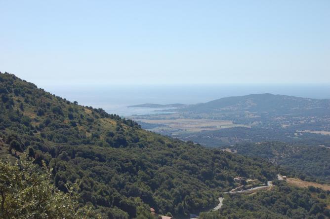 vue panoramique de la maison