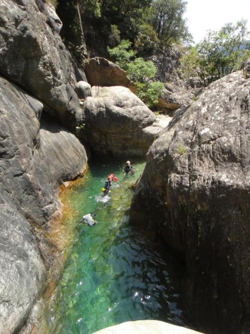 canyon Pulischeddu 1/2 journée