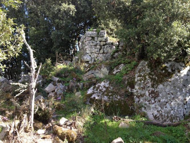 ruine du chateau d'Istria