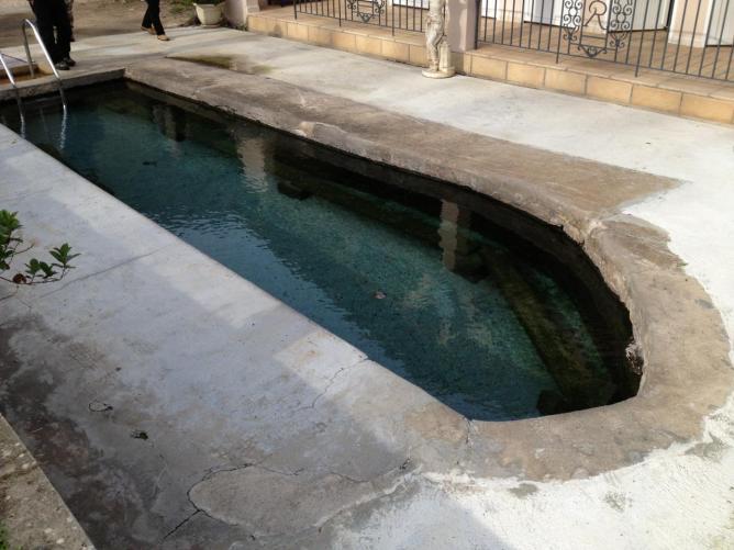 piscine des bains de Caldane